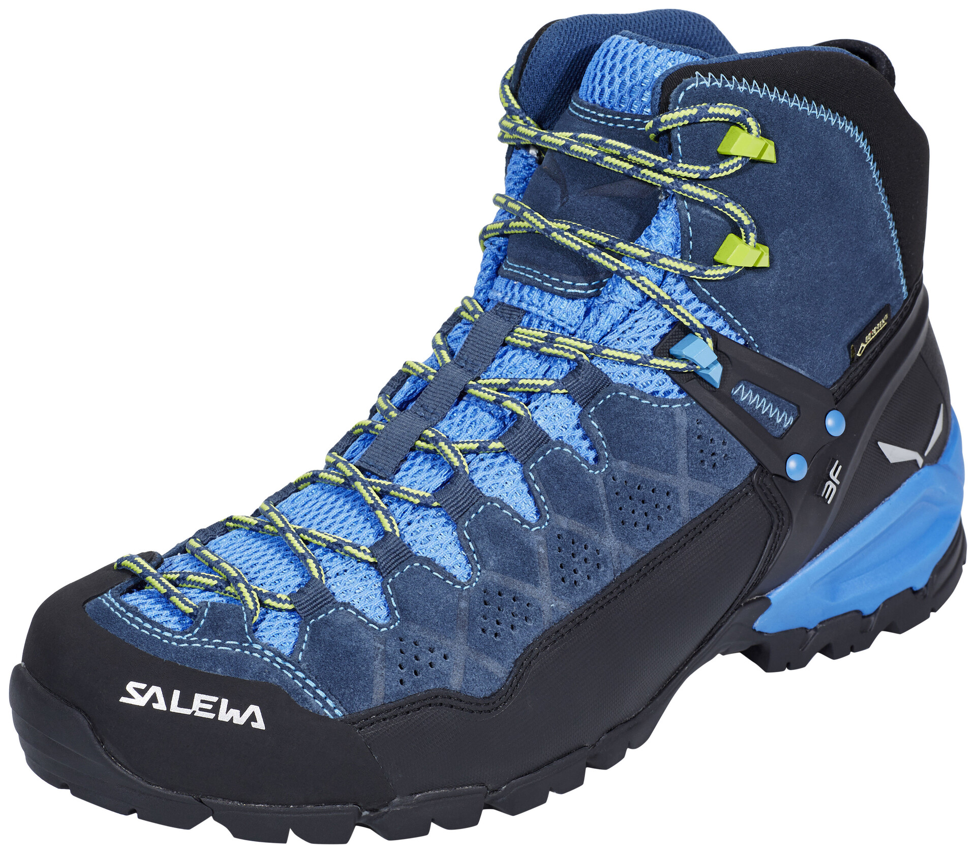 SALEWA Alp Trainer Mid GTX Shoes Herren dark denimcactus